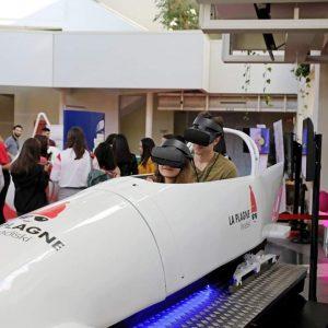 bobsleigh simulateur réalité virtuelle lyon rhone alpes france la plagne